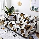 Fundas de sofá elásticas geométricas Fundas de sofá elásticas para Sala de...