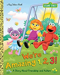 We're Amazing 1,2,3! children's book about autism
