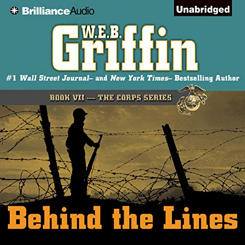 Behind the Lines audiobook cover art