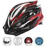 Lixada Casco Ciclismo Ajustable Ultraligero Diseño Moldeado Integral con 25...