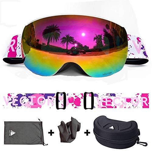 Skibril Skibril Skibril Sneeuwbril Mannen Skibrille Anti-mist Snowboard Skiën Vrouwen Zonnebril Outdoor Sport