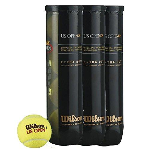 WILSON US OPEN TENNIS BALLS - 18 TUBES (72 BALLS) by Wilson