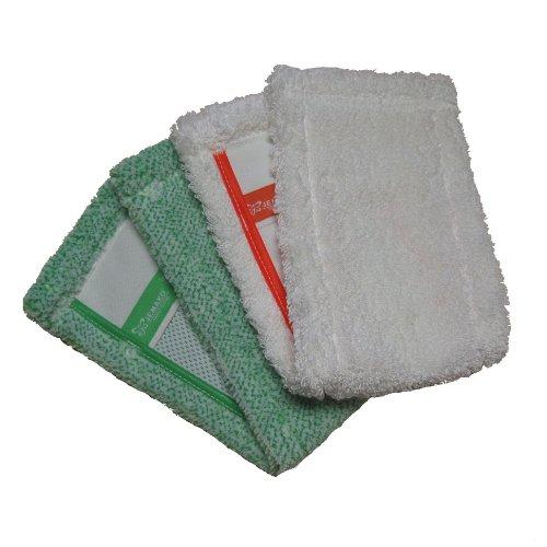 Jemako Bodentuch Doppelpack grün und weiss kurze Faser 42cm (Stück = 21,45 Euro)