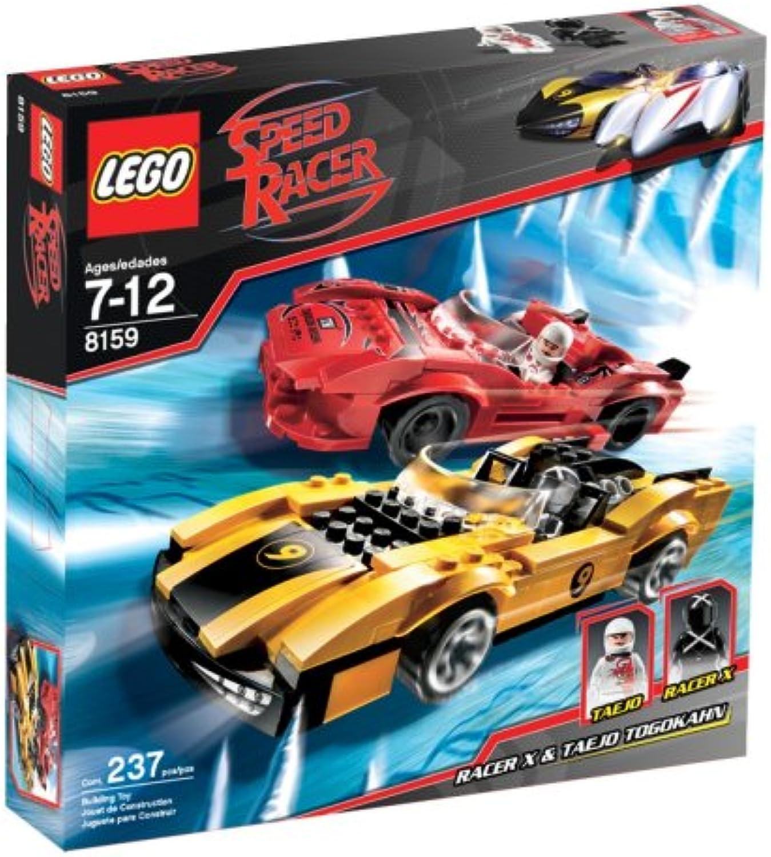 LEGO 8159 SPEED RACER TAEJO & RAC.X(4) M