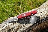 CampBuddy Campingbesteck Edelstahl   Outdoor Besteck Set - Klappbar   Camping Tool für Unterwegs - 4
