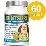 JOINTSURE condroprotector Perros| 60 Comprimidos | con mejillón de Labio Verde, glucosamina y condroitina Natural. | Este antiinflamatorio para Perros.