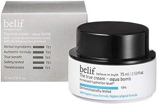 ビリープダートルクリームアクアバム 50ml / 75ml 肌の保湿 韓国コスメ、belif The True Cream Aqua Bomb 50ml / 75ml Korean Cosmetics [並行輸入品] (75ml)