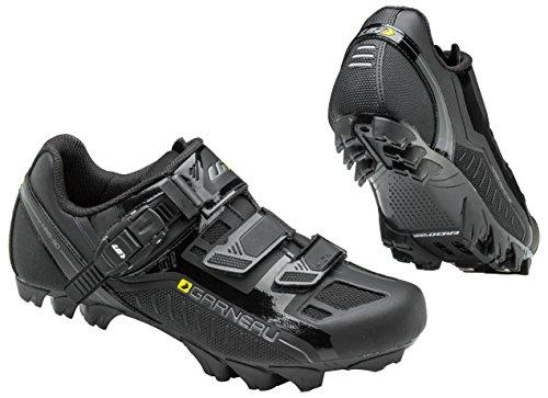 Louis Garneau, Women's Mica MTB Bike Shoes, Black, US (10), EU (41)