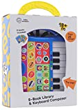 Baby Einstein - My First Music Fun Keyboard Composer & 8 Sound Book Library - PI Kids (Play-A-Song)