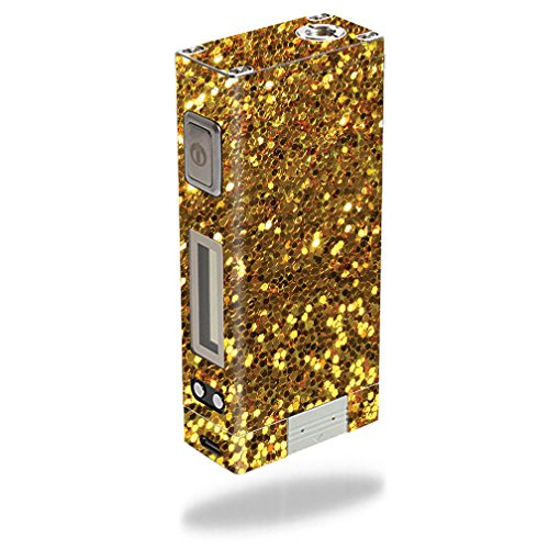 MightySkins Skin Compatible with Innokin iTaste MVP 3.0 – Gold Dazzle | Protective, Durable, and Unique Vinyl Decal wrap Cover | Easy to Apply, Remove, and Change Styles | Made in The USA