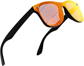 NWOUIIAY Sunglasses Sport Sunglasses Mens Womens Polarized Sunglasses Fashion Square UV400 Protection Eyeglasses Light Weight Spring Hinge Plastic Shades