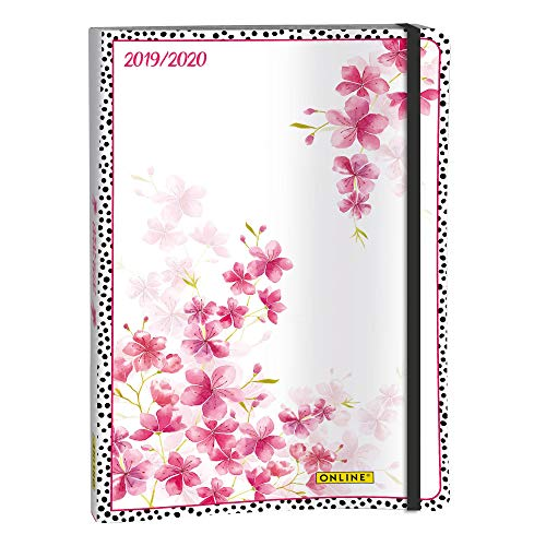 ONLINE 02982 - Wochenplaner 2019/2020, Creative Diary, Cherry Blossom, 1 Stück