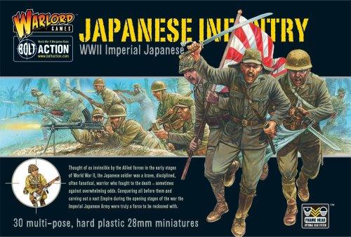 Imperial Japanese Infantry Miniatures