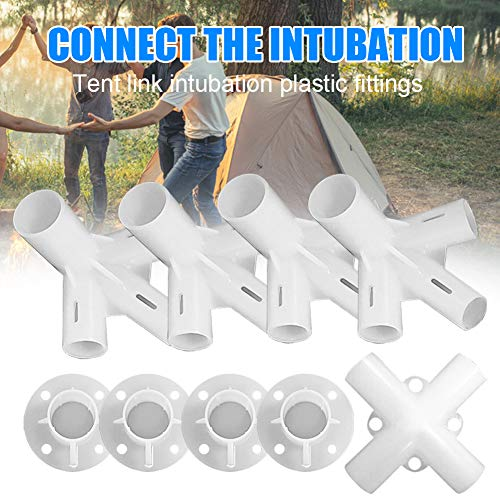 Gmorosa Spare Parts, Gazebo Awning Tent Corner Center Connector For 3x3m Gazebo Awning Tent Feet Corner Center Connector 25/19mm