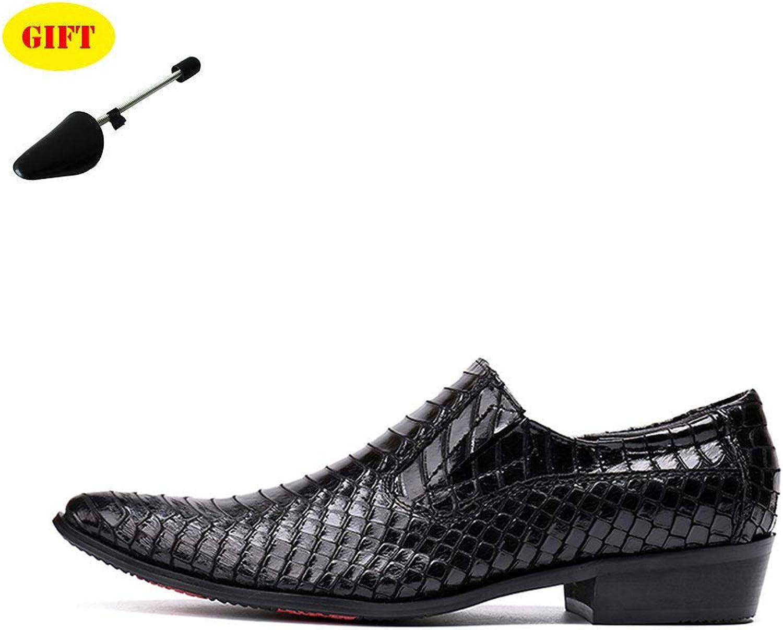 Chaussures à Bout Pointu Pour Hommes Blanc Noir Bas Chaussures Robe Robe De SoiréE Chaussures De Mariage,noir,EU37 UK5