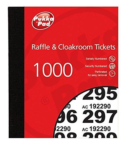 Pukka Pads waarde garderobe Raffle Ticket Nummer Pad (Pack van 6)