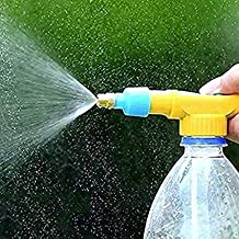 SPC Bottle Sprayer for Plants Garden Pesticide Car Wash with Adjustable Brass Nozzle Sprayer (Multi-Color)