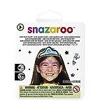 Snazaroo Fiesta pintura facial, color azul, blanco, rosa
