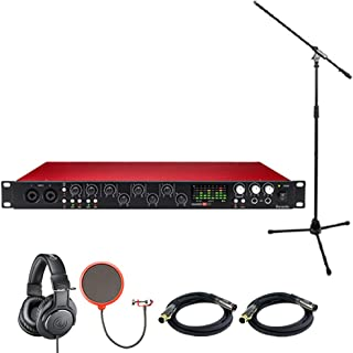 Focusrite Scarlett 18i20 USB Audio Interface (2nd Generation) includes Bonus Audio-Technica Professional Monitor Headphones and More