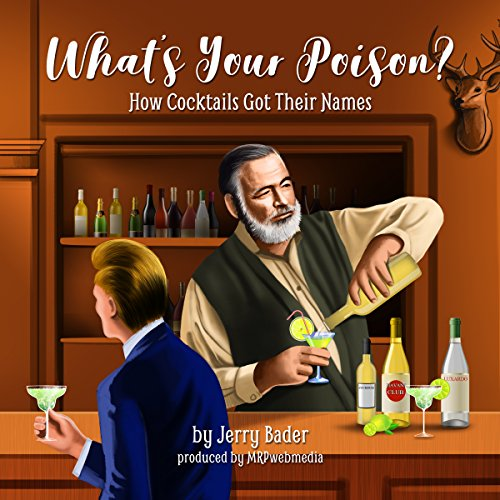 What's Your Poison? audiobook cover art