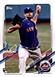 2021 Topps Opening Day #206 David Peterson New York Mets MLB Baseball Card (RC - Rookie Card) NM-MT. rookie card picture