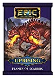 White Wizard Games Epic Card Game: Uprising - Flames of Scarros - English