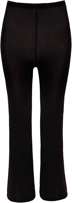 iiniim Women Seamless Footless Leggings See Through Sheer Trousers Pantyhose Tights