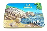 wedaredai Sanya (Hainan) Hainan China 3D Kühlschrankmagnet Tourist Souvenirs, Creative Home Dekoration China Kühlschrank Magnet Aufkleber