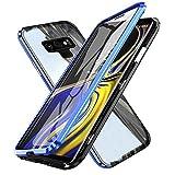 Gypsophilaa Funda de Adsorción Magnética Compatible con Samsung Galaxy Note 9,[360 Full Body...