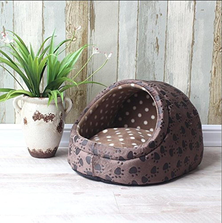 BPZLL Pet House Kennel cat nest pet bed, 2, m