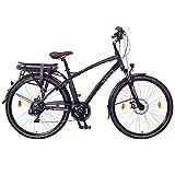 NCM Hamburg Electric City Bike Black 28'