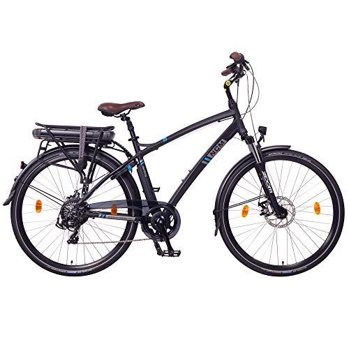 NCM Hamburg Electric City Bike Black 28' (28', Black)