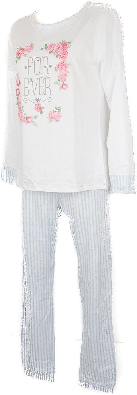 RAGNO Long Sleeve Cotton Pyjama Pajamas Woman Women Sleepwear Item N12461
