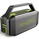 Cassa Bluetooth potente, W-KING 60W Speaker Bluetooth Portatile, impermeabile casse altoparlante,...