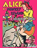 Alice At Monkey Island - Coloring Comic Book