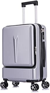 Men Womensuitcase,Trolley,Carry on Hand Cabin Luggage,Hard Shell Travel Bag,Business Boarding with 4 Spinner Wheels,20 Inches24 Inches Lightweight Durable,A,24inches