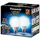 パナソニック  Panasonic LED電球プレミア 一般電球タイプ 40形相当 485lm 全方向タイプ E26口金 4.4W 2個セット 昼光色相当 LDA4DGZ40ESW22T