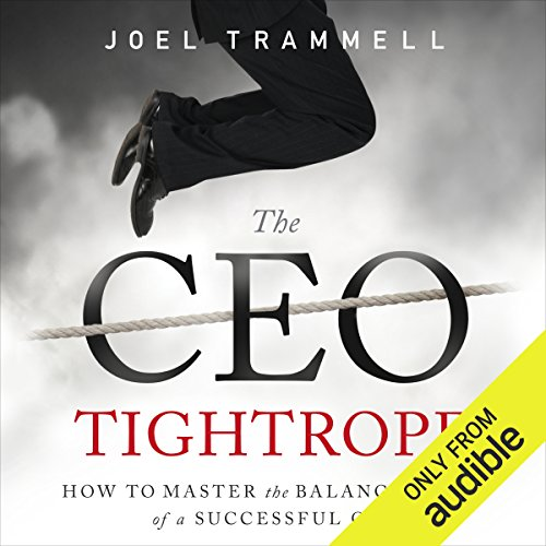 The CEO Tightrope audiobook cover art