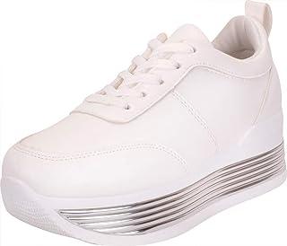 Cambridge Select Women's Low Top Retro 90s Lace-Up Chunky Flatform Fashion Sneaker