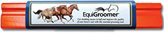 (Orange) - EquiGroomer Premium Grooming Brush - Deshedding and Animal Coat Hair Care Tool - Great for Horses, Ponies and o...