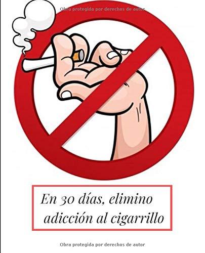 En 30 días, elimino adicción cigarrillo: nuevo cuaderno