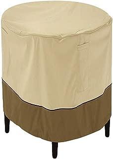 Classic Accessories Veranda Round Patio Ottoman/Coffee Table Cover, Small with Veranda Cover