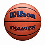 Wilson Evolution Game Basketball, Navy, Official Size - 29.5'