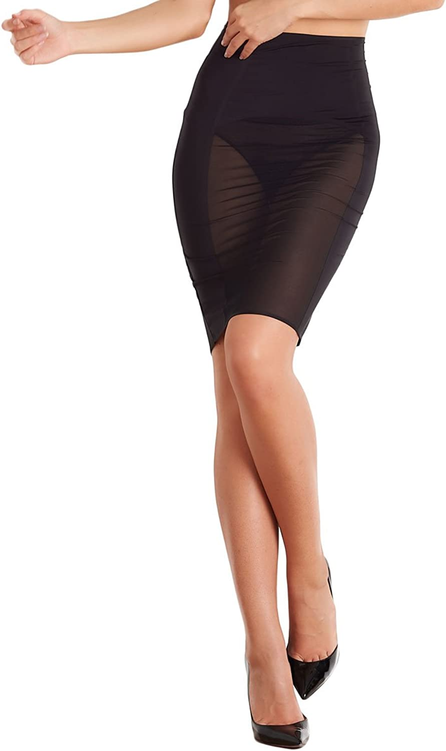 Maison Close 608049 Women's Belle De Jour Black Light Control Skirt