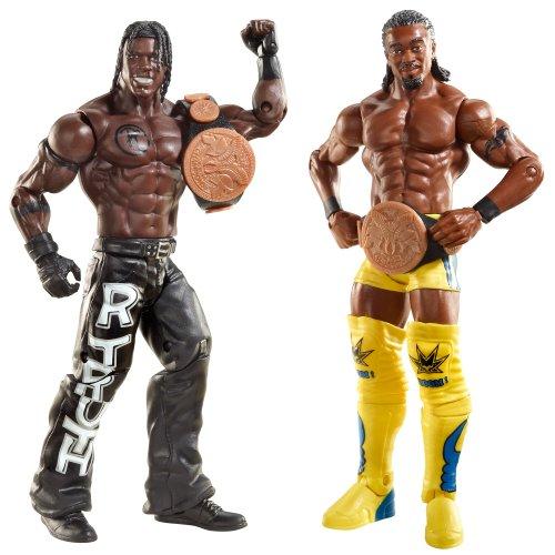 WWE - Catch - Figurines articulées - Double Pack - Série 20 Kofi Kingston & R-Truth