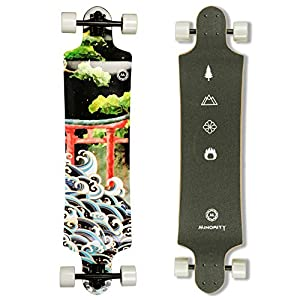 MINORITY Downhill Maple Longboard 40-inch Drop Deck (Midnight)
