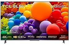 TCL 50C721 QLED Fernseher 50 Zoll Smart TV (4K UHD, Quantom Dot, 100% Farbvolumen, Android 11, Dolby Vision Atmos, MEMC, ONKYO, Google Duo, Google Assistant & Alexa, HDMI 2.1) [2021]©Amazon