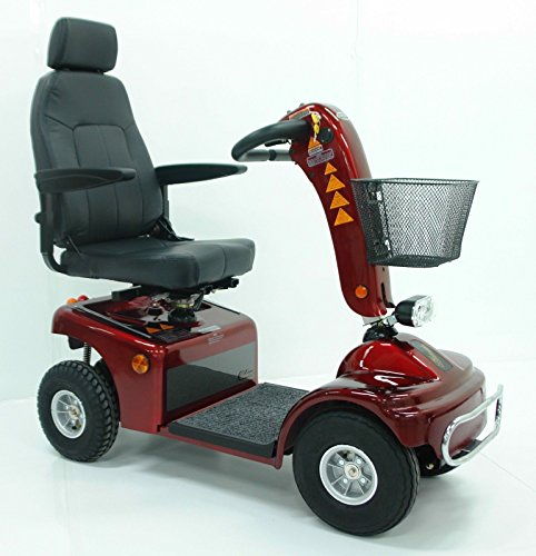 Elektromobil Shoprider® TE 889 NRS Borkum (6 km/h) Rot