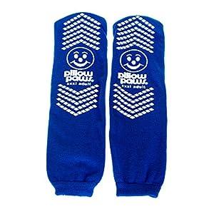 buy BARIATRIC ROYAL BLUE SLIPPER SOCKS Pack of 2 Diabetes Care