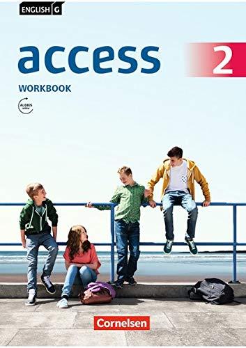English G Access Allgemeine Ausgabe · Band 2: 6. Schuljahr Workbook mit Audios online
